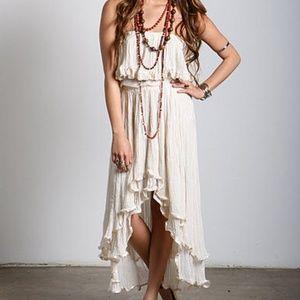 Jen's Pirate Booty Goddess Gauze Dress in Natural